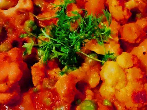 Recipe Of Aloo Matar Gobi