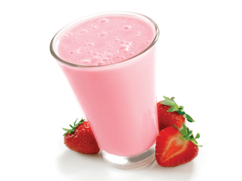 Yummy Strawberry Shake